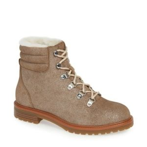 1901 buckly hiker boot Plantino Dusty Suede 9.5